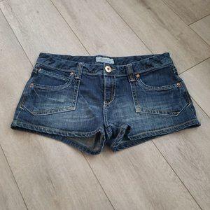 Aeropostale Dark Denim Shorts Size 13/14